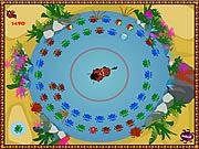 Play Timon and pumbaas bug blaster Game