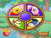 Play Piglets round a bout Game