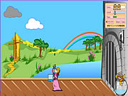 Jugar Princess and the pea shooter game Juego