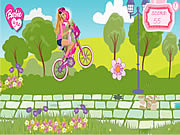 Play Barbie me bike game Game