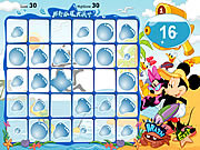 Play Mickey mouse and friends beach party Game