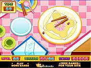 Peas Chopsticks game