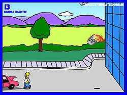 Homer's Beer Run game
