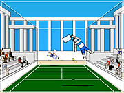 Play Ragdoll tennis Game