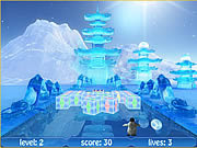 Ice Treasures game