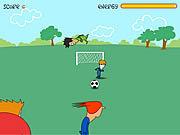 Jugar Footie kick Juego