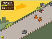 Play Psychic stunt wagon Game