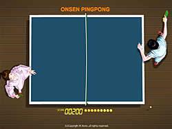 Gioca gratuitamente a Onsen Pingpong