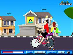 Cycling Kiss game
