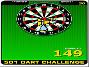 Play 501 dart challenge Game