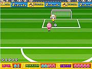 Play Girl soccer Game