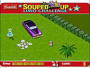 Play Souped up limo challenge Game