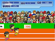 100m running game Gioco