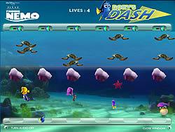Dory's Dash game