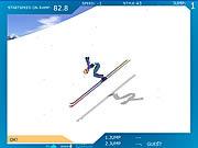 Play Ski jump Game