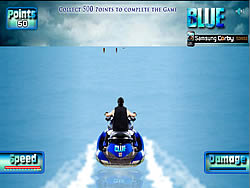 Bluie Aqua Speed Run game