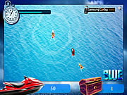 Play Blue ski challenge Game