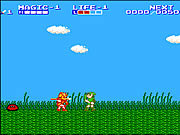 Play Zelda 2 the adventure of link Game