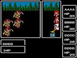 Final Fantasy 1 game