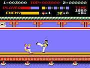 Play Kung fu master nes version Game