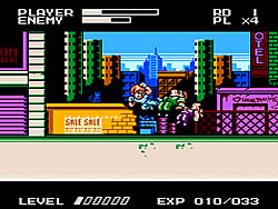 Mighty Final Fight (NES version) game