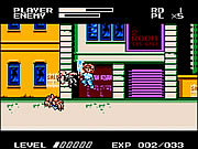 Play Mighty final fight nes version Game