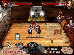 Backyard Boxing game