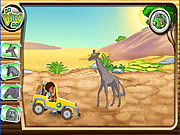 Play Diegos african offroad rescue Game