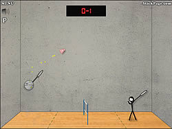 jeu Stick Figure Badminton