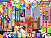 Play Suprise party decor Game