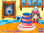Play Delicious cake shop Game