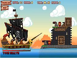 Yo-Ho-Ho Cannon game