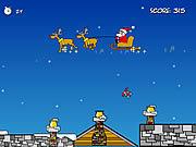 Play Santas bulging sack Game