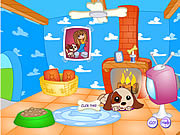 Play Puppy star doghouse Game
