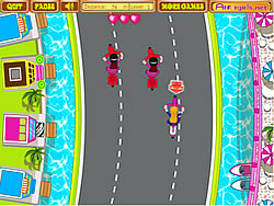 Anita's Cycle Racing game
