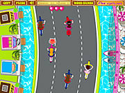 Play Anitas cycle racing Game