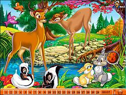 Hidden Numbers - Bambi game