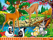 Hidden Numbers - Bambi game