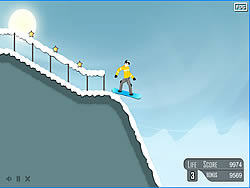 Extreme Snowboard game