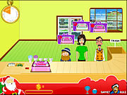 Play Christmas cake shop Game