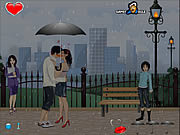 Play Kiss in the rain Game