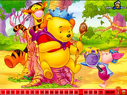 Hidden Numbers - Winnie The Pooh game