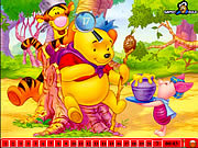 Play Hidden numbers  winnie the  pooh Game