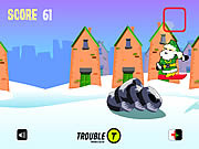 Play Santa urban snowboarding Game