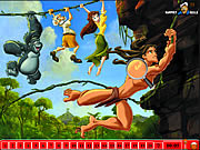 Hidden Numbers - Tarzan game