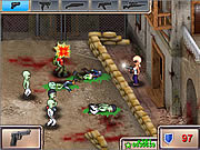 Play Gunrox zombietown Game