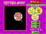 Play Kitten spot Game