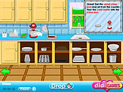Play Fantastic chef chocolate cake Game