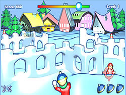 Snow Fortress Attack game