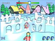 Play Snow fortress attack Game